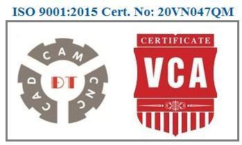 ISO 9001:2015 Cert. No:20VN047QM